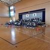 6年生:卒業式練習@体育館始まる