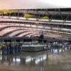 1日目:シンガポール航空 SQ623 関空〜シンガポール ビジネス