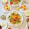 七夕のおうちごはん(レシピ有)/My Homemade Dinner/อาหารมื้อดึกที่ทำเอง