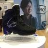 昌磨君のスケート靴 「宇野昌磨選手コラボレーション展示イベント」より