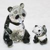 スワロフスキー 「パンダの親子」5063690