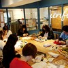 レッスンレポート)4/13本川町教室 暖かくなってもウールが人気です