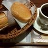 フォレスティコーヒー「モーニングセット(マスタードドッグ)」「シナモントースト」
