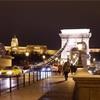ドナウの真珠と呼ばれるだけのことはあるブダペストの夜景