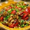 【レシピ】鶏肉とパプリカの中華風ナッツ炒め