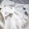 夏の羽織に。無印良品フレンチリネン洗いざらし五分袖開襟ワンピース