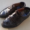新しく買ったつもりの自慢の靴
