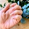 ネイルはしない。爪の艶を愉しむ。