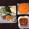 お野菜からの離乳食  [262日目  鶏肉とお豆腐のハンバーグ]