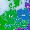 ヨーロッパの海外在住者は、どこに住んでいるか