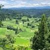 松之山温泉と美しい棚田