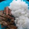 アキラ氏米を食べるの巻