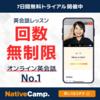 *オンライン英会話 ネイティブキャンプ 一日目と子供の英語教育についての雑感*