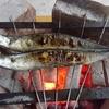 【BBQ】炭火焼料理の代表「サンマの塩焼き」
