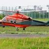 2019年5月13日(月)【速報】新しい「とやま」飛びました! JA119W 富山県防災ヘリコプター