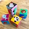 【手作りおもちゃ】牛乳パックで積み木を作ろう!