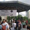 音楽の日を楽しもう 昨日は公園でラップ