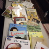 2016年「クリスマス絵本の読書会」で集まった本