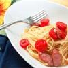 ペペロンチーノに飽きたらトマトを具に🍅トマトは焼くと旨い!レシピ