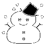 「Unicode:ゆきだるま」を君に
