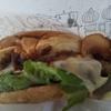 鴻ノ巣(天白区)_モスバーガー #期間限定_とびきりスパイス&デミ 国産燻(いぶ)し豚ロースとチーズ(2021年1月の日曜日)