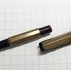 修理日誌 多面体万年筆の内軸製作