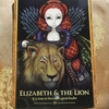今日のカード ELIZABETH & THE LION