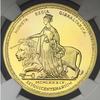 イギリス領ジブラルタル1989年ウナ&ライオン150年記念5ソブリン金貨