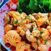 鶏肉とカリフラワーのオーロラソース炒め(動画レシピ)/Chicken and Cauliflower with Aurora Sauce.