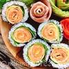 【レシピ動画】お花の巻き寿司(バラの巻き寿司)