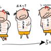 つわり中の驚愕な体重変化について