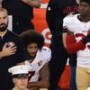「米国歌に起立拒否のNFL選手、オバマ氏が擁護」(BBCニュース)と「アンダーコントロールは嘘」(小泉元首相)