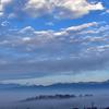 ⛅山梨 フルーツラインにて雲海を撮影🏔