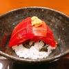 殿堂入りのお皿たち その389【味享さん の まぐろ丼】