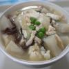 蕪と鶏ささみと豆腐の中華スープ