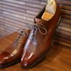 三陽山長の雨用革靴:防水 友二郎が気になる