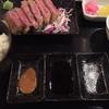 【牛かつ】串揚げ一歩一歩で名物の牛かつ膳を食べてみたんだ♪~絶品牛かつがここにあり!!!~