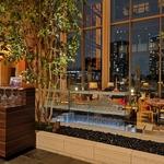 東京アメリカンクラブのAmerican Bar & Brill で食後のチーズケーキをいただき!