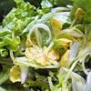 新玉ねぎとレタスのハニーマスタードサラダ