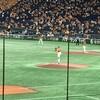 コロナ禍の中の野球観戦:菅野投手が通算100勝、開幕戦から13連勝(新記録)を飾る