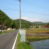 大土山への道