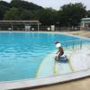 横浜 【こどもの国】のプールで幼児と遊ぶ!!