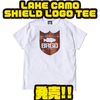 【バスブリゲード】レイクカモシリーズのロゴが入った「LAKE CAMO SHIELD LOGO TEE」発売!