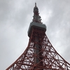 hatenaより『本日の東京タワー』です☁🌳☔
