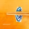 【折り紙で作るはし置きの作り方】簡単にできてかわいいです!