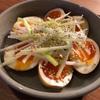 卵の簡単レシピ味玉のポイントは氷水で冷してタレに漬け込む