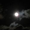 今年(2020年)最後の満月「コールドムーン」が見えたよ!(^^)/
