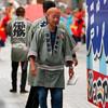 帯屋町筋ジュニア隊:2017よさこい全国大会(8月12日、高知、帯屋町筋商店街)