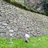 【金沢城めぐり】石垣を継ぎ足した跡が見える「申酉櫓下の石垣」