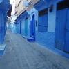猫いっぱいの青い街シャウエンで貧血と空腹と睡魔に襲われる(世界の猫探し204~208匹目)
